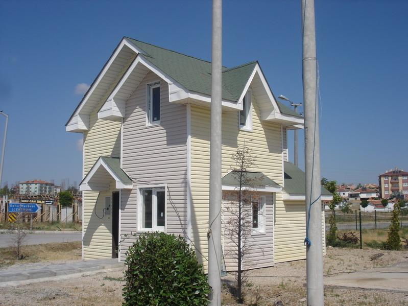 Dubleks çelik evler üretimde kullanılan malzemenin çoğunlukla